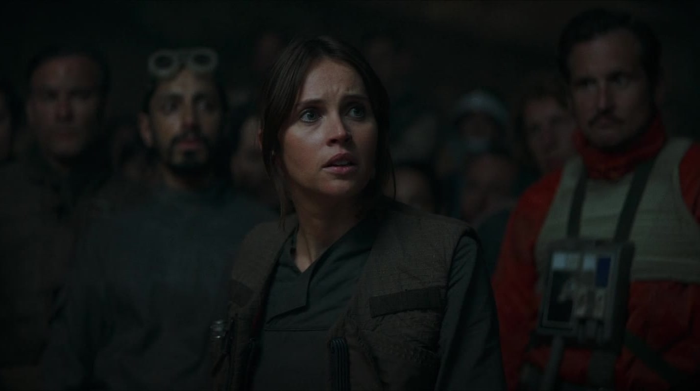Jyn Rallies The Rebel Alliance
