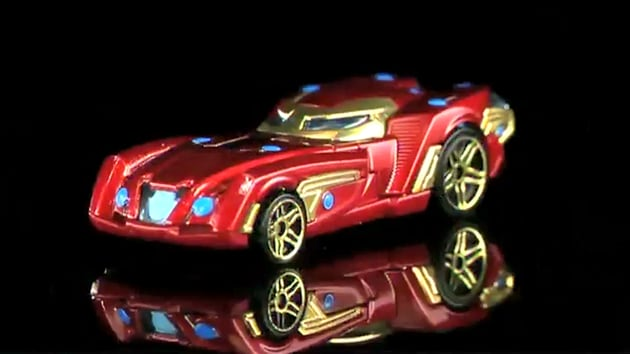 New Hot Wheels Avengers Cars Revealed