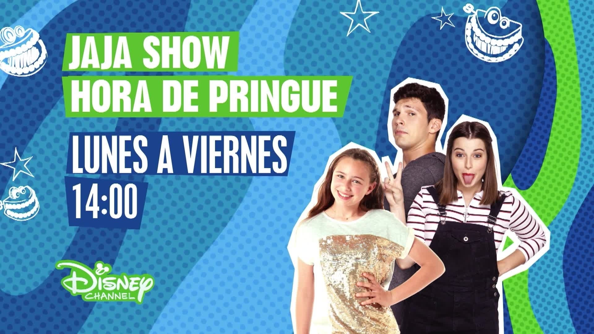 """JaJa Show Hora de pringue"" en Disney Channel"