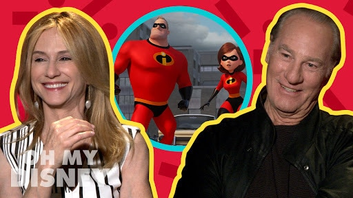 Craig T. Nelson and Holly Hunter Talk Each Other's Incredibles 2 Characters | Oh My Disney