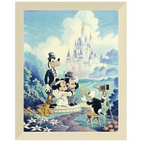 Image of ''Mickey and Minnie Wedding'' Giclée by Randy Souders # 9