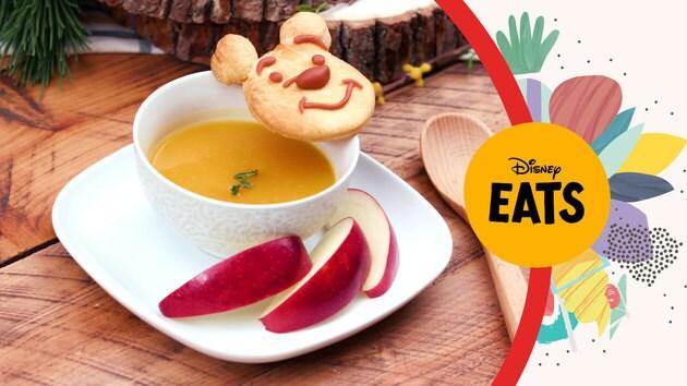 Winnie The Pooh Bread & Butternut Squash Soup | Disney Eats