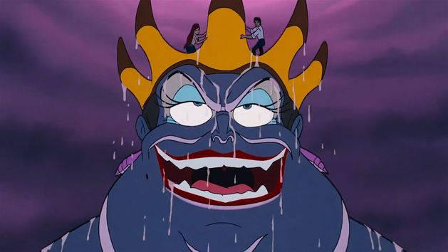 Ursula - Villanos Disney