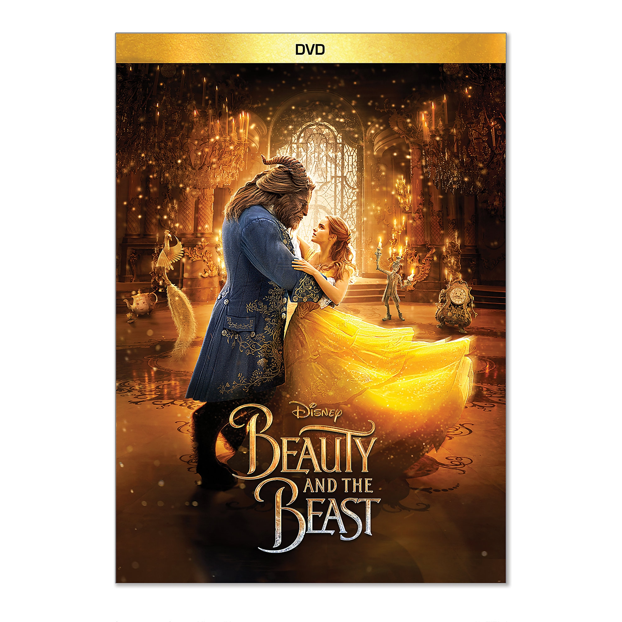 Beauty and the Beast - Live Action Film - DVD