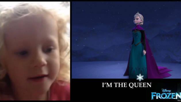 Disney Junior Fans Sing Let It Go