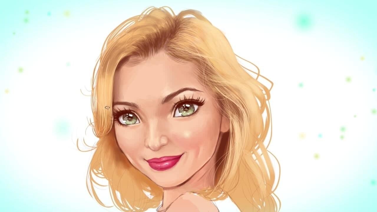 Desenând-o pe Dove