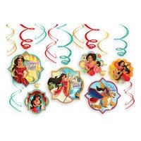 Elena of Avalor Swirl Decorations Set