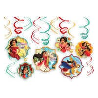 Image of Elena of Avalor Swirl Decorations Set # 1