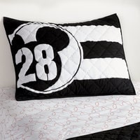 Mickey Mouse 28 Varsity Sham by Ethan Allen