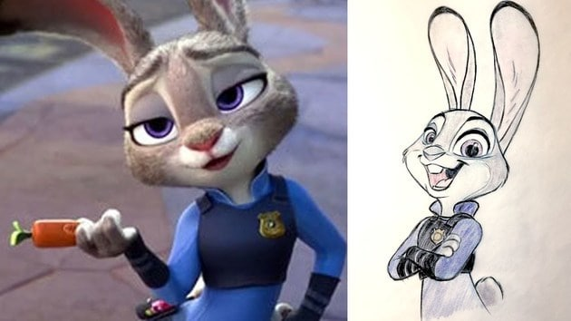 How to Draw Judy Hopps from Disney's Zootopia | Quick Draw