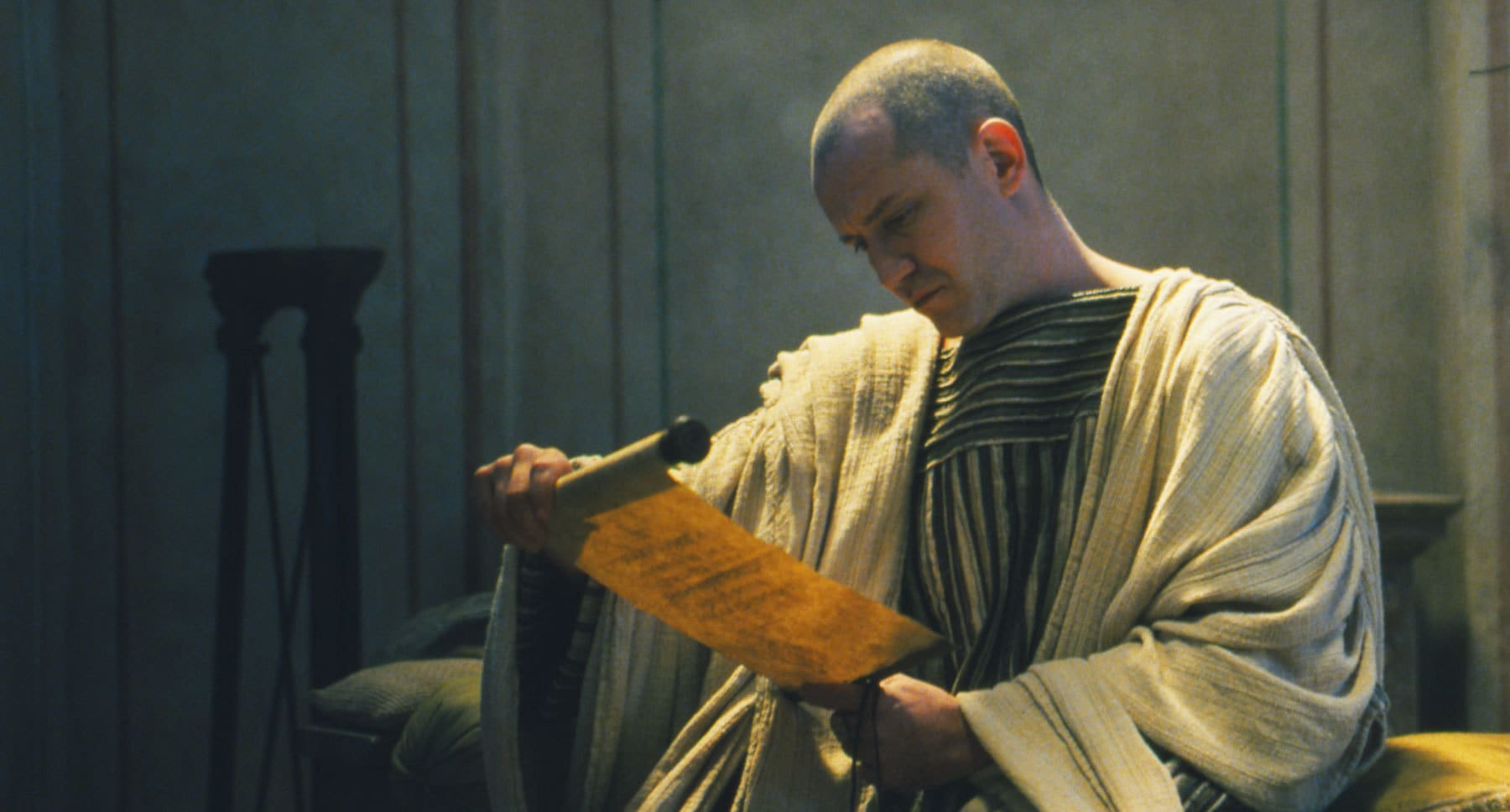 "Hristo Shopov as Pontius Pilate in ""The Passion of the Christ"""