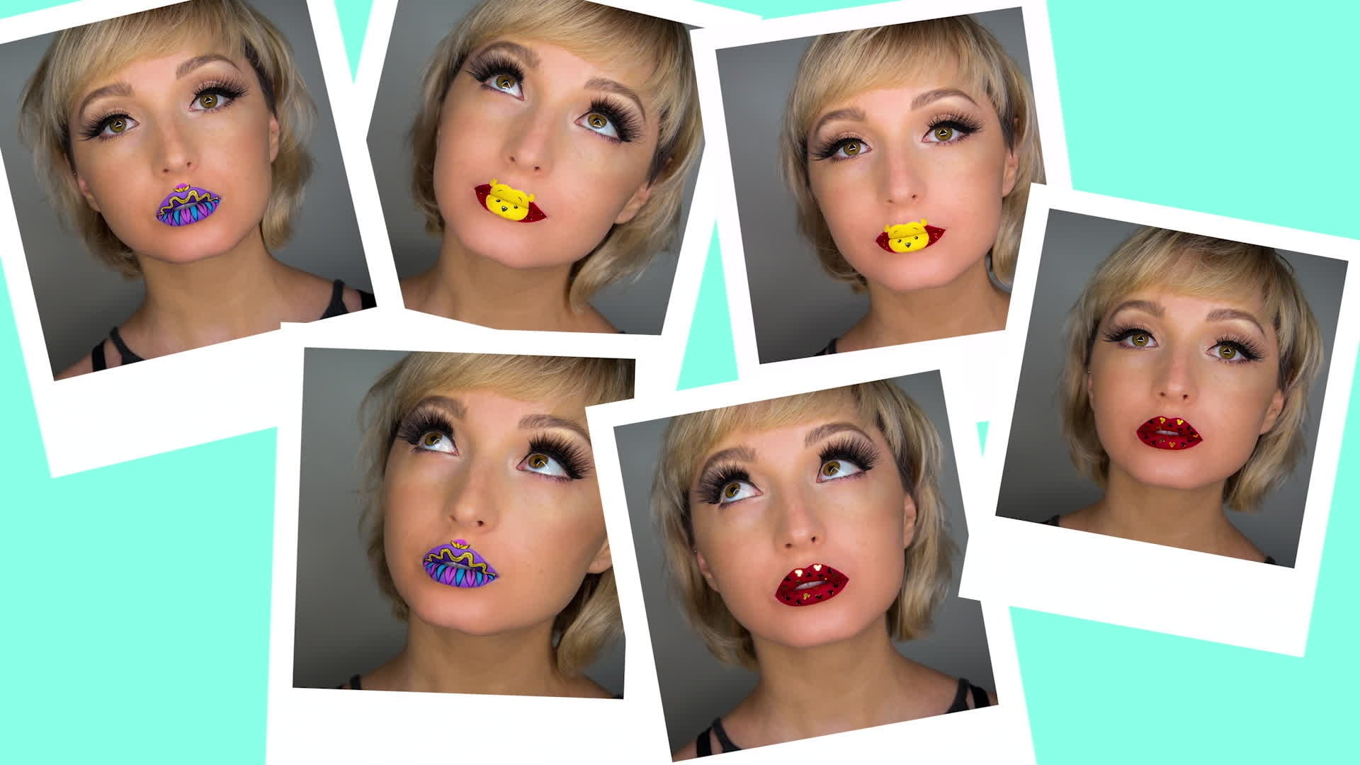 Disney Lip Art Tutorial Part 2