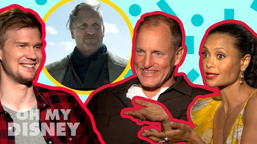 Woody Harrelson, Thandie Newton, & Joonas Suotamo | Oh My Disney Show by Oh My Disney