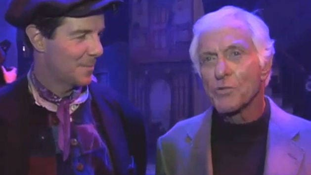 Dick Van Dyke at Mary Poppins