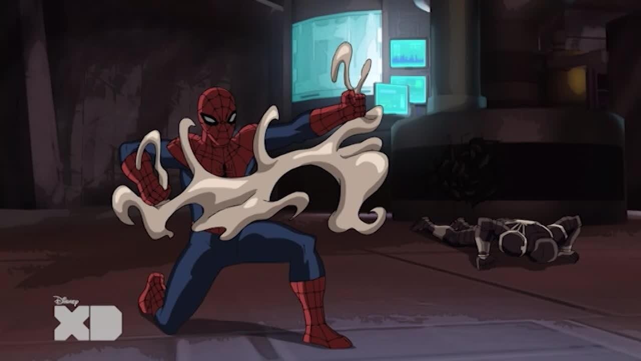 Ultimate Spider-man contro i sinistri sei - Il simbionte