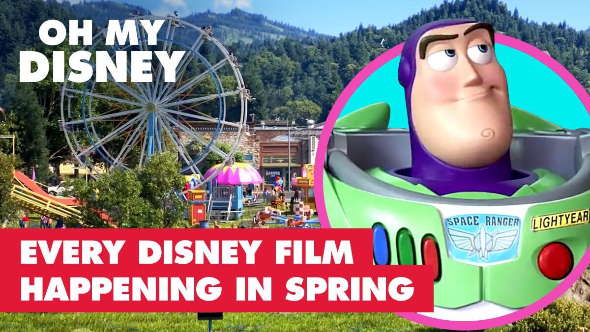 Every Disney Film Happening in the Spring | Oh My Disney
