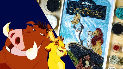 The Lion King VHS Food Art | Sketchbook by Oh My Disney