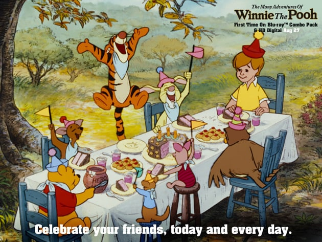Celebrate your friends, today and every day.