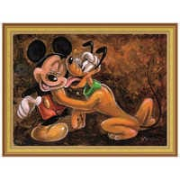 Image of ''Mickey and Pluto'' Giclée by Darren Wilson # 7