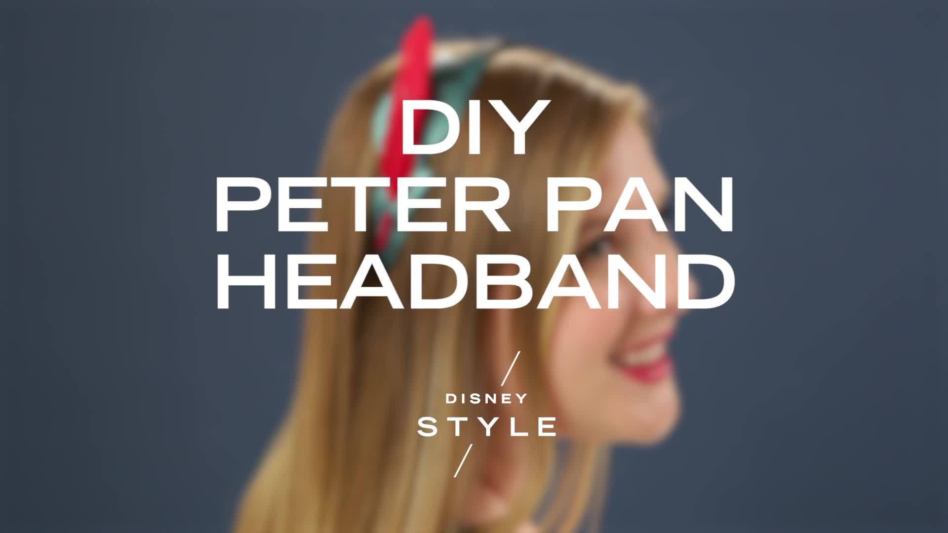 DIY Peter Pan Headband