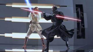 Obi-Wan Fights Darth Maul
