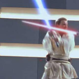 Obi-Wan pelea con Darth Maul