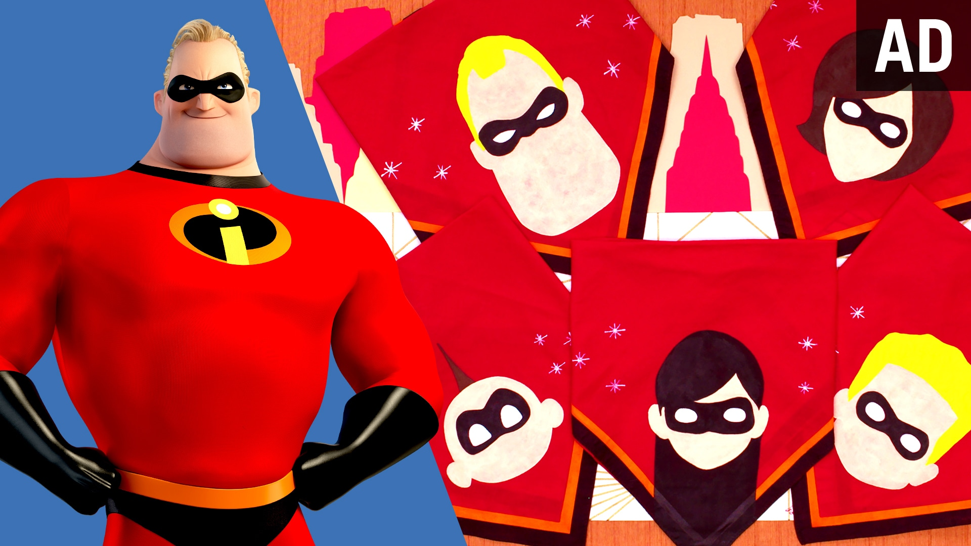 Incredibles Bandana | Disney DIY by Disney Family