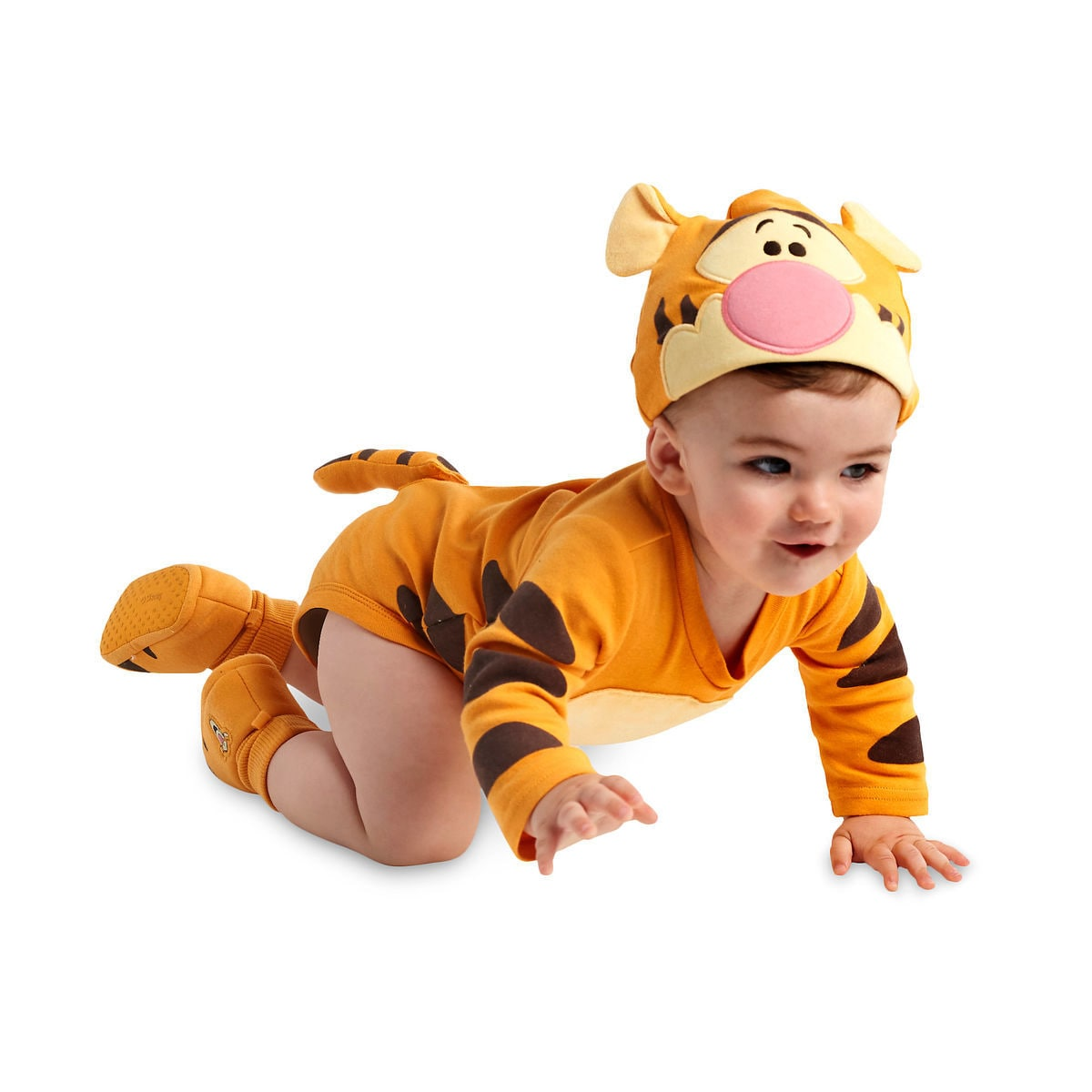 fc06da1dd09 Product Image of Tigger Disney Cuddly Bodysuit Costume for Baby -  Personalizable   2