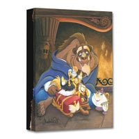 Beauty and the Beast ''Family of Enchanted Things'' Giclée on Canvas by Michelle St.Laurent