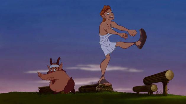 O treinamento - Hércules