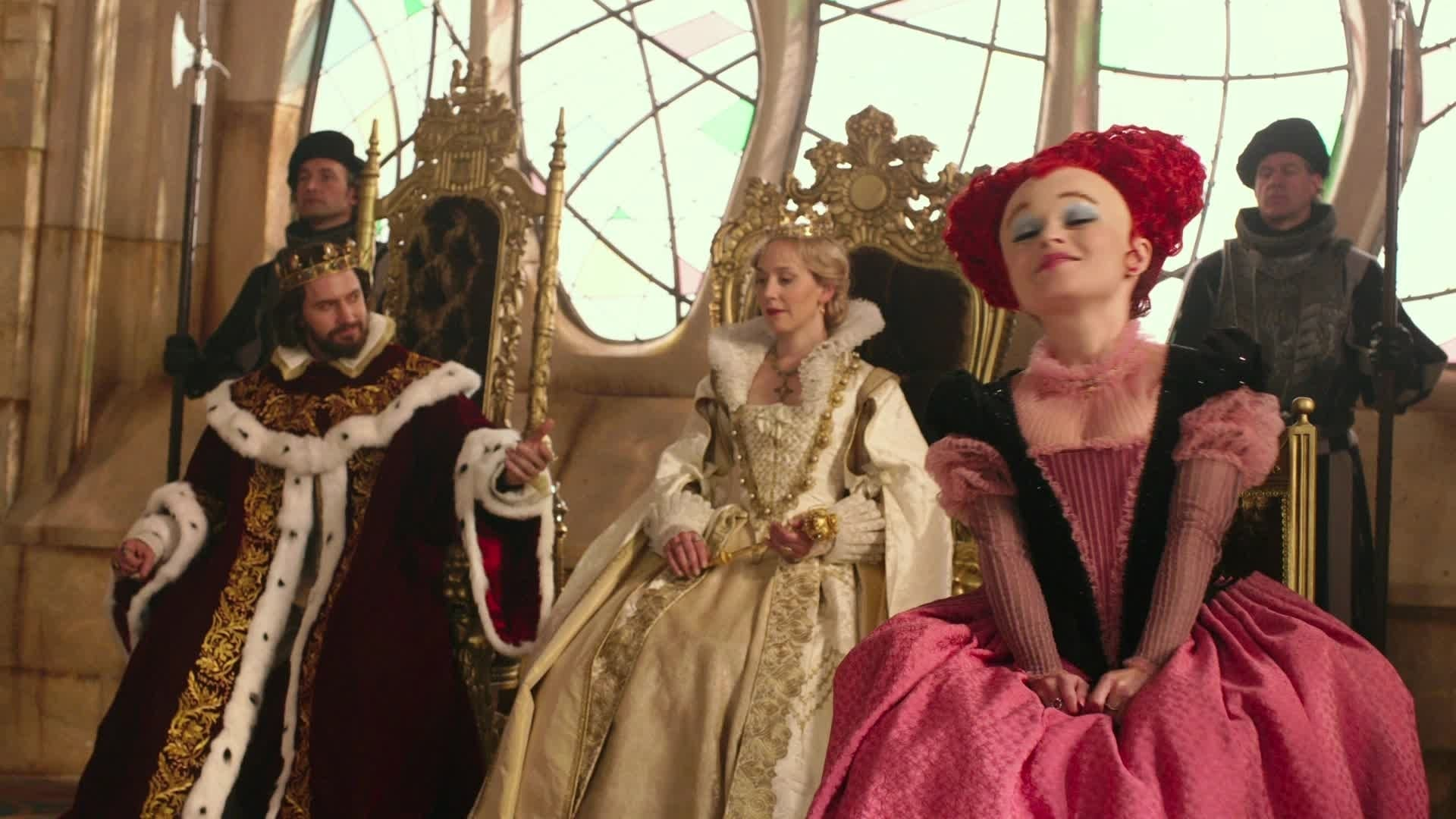 Alice Through The Looking Glass - Crowning Ceremony