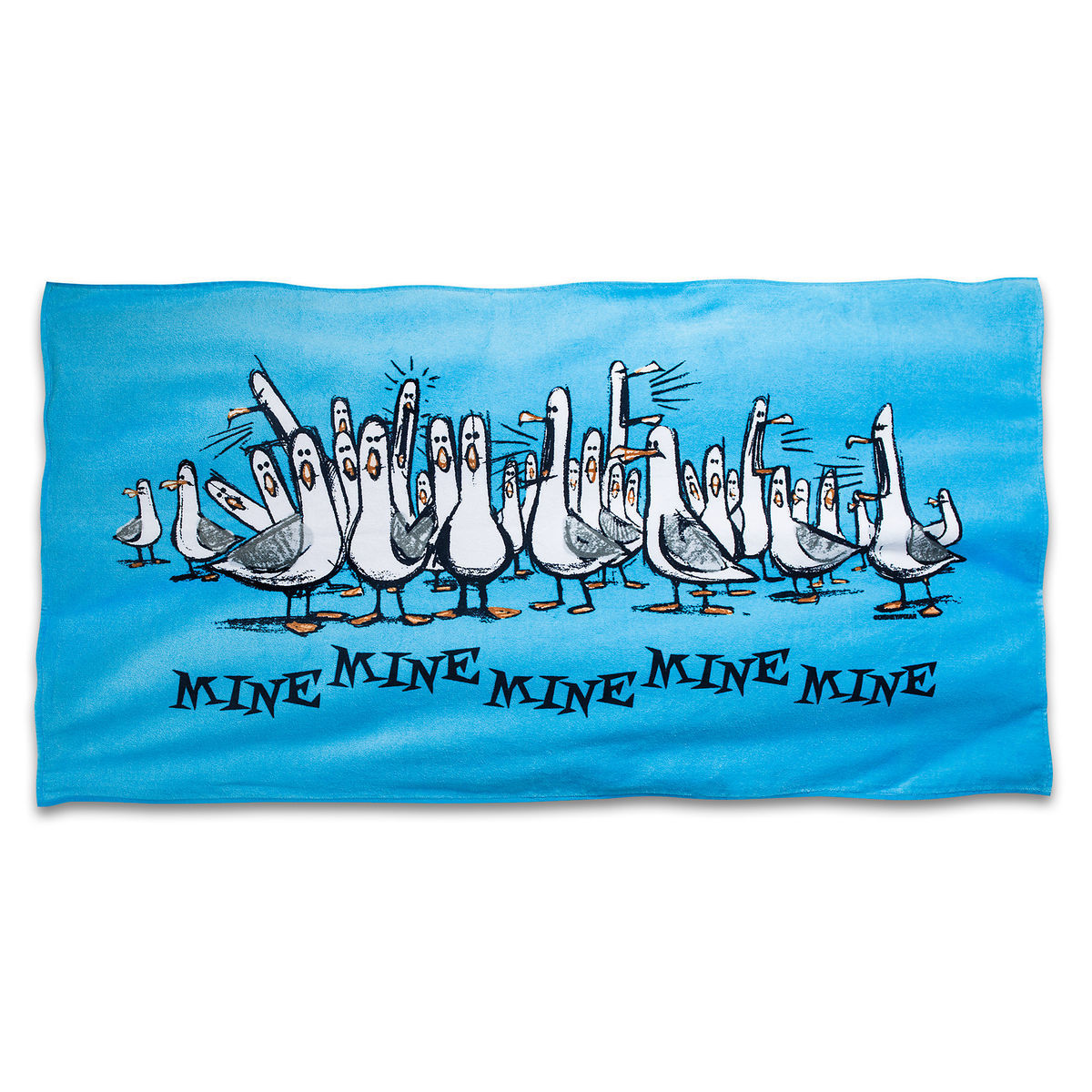 Product Image Of Finding Nemo Seagulls Beach Towel Mine