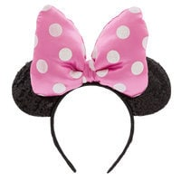 Image of Minnie Mouse Ear Headband for Kids - Pink # 1
