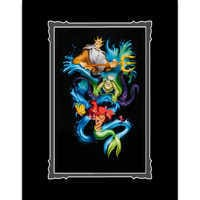 Image of The Little Mermaid ''Ariel's Innocence'' Deluxe Print by Noah # 1
