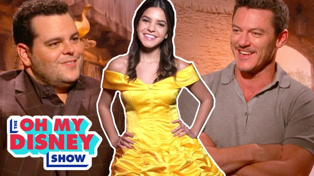 Josh Gad, Luke Evans and Everything Live-Action Beauty and the Beast | The Oh My Disney Show