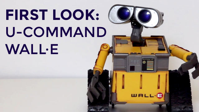 U-Command WALL·E - First Look | Disney Insider