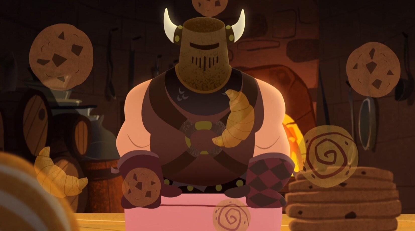 Biscoito-Chave - Recortados - Enrolados Outra Vez – A Série