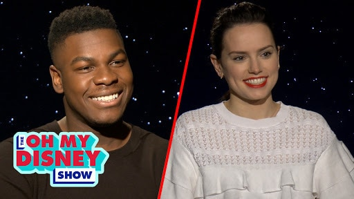 The Cast of Star Wars: The Last Jedi Share Their Favorite Star Wars Quotes | Oh My Disney Show