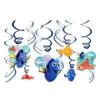 Finding Dory Swirl Decorations Set
