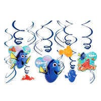 Image of Finding Dory Swirl Decorations Set # 1