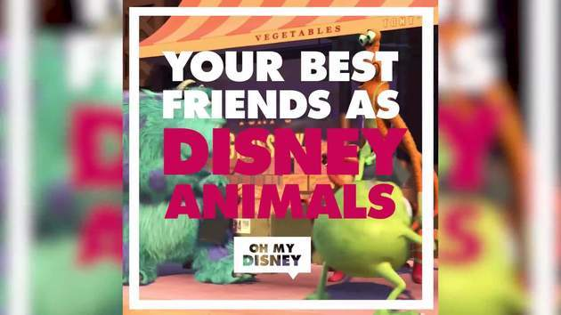 If Your Best Friends Were Disney Animals | Oh My Disney