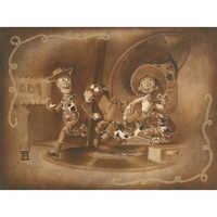 Image of Woody and Jessie ''Roundup Gang'' Giclée by Noah # 1