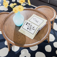 Image of Mickey Mouse It All Started With a Mouse Table by Ethan Allen # 3