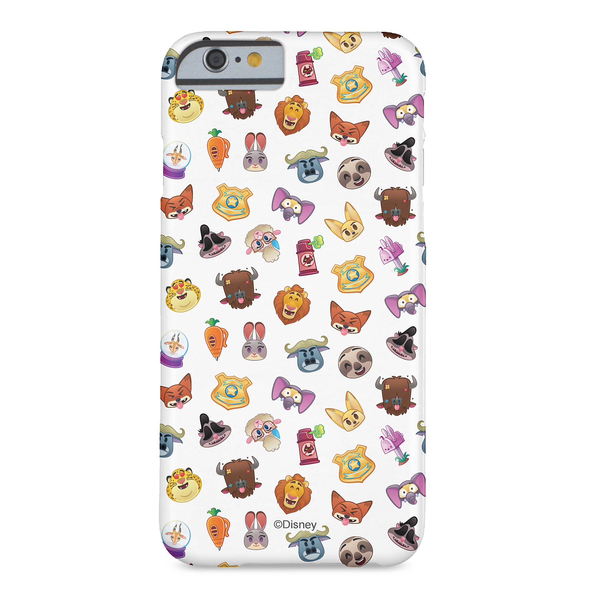 Zootopia Emoji iPhone 6/6S Case - Customizable