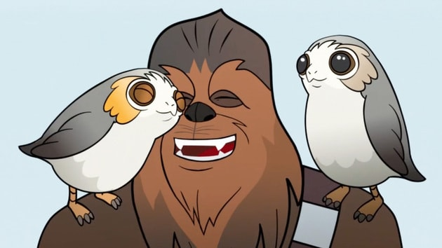 Star Wars Forces of Destiny | Porgs!  | Disney
