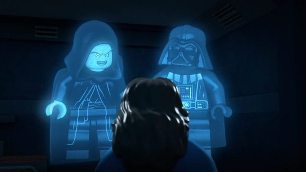 LEGO Freemaker Top 10 Darth Vader and Emperor Palpatine