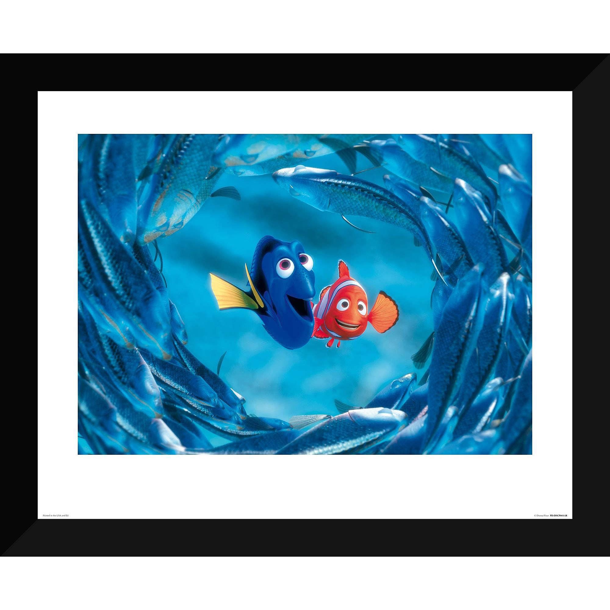 Finding Nemo ''The Moonfish entertain Marlin and Dory'' Giclé