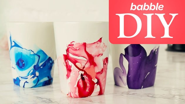 Nail Polish Mugs | Babble DIY