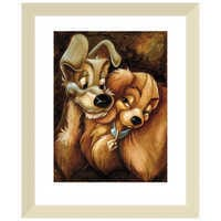 Image of ''Lady and the Tramp'' Giclée by Darren Wilson # 5