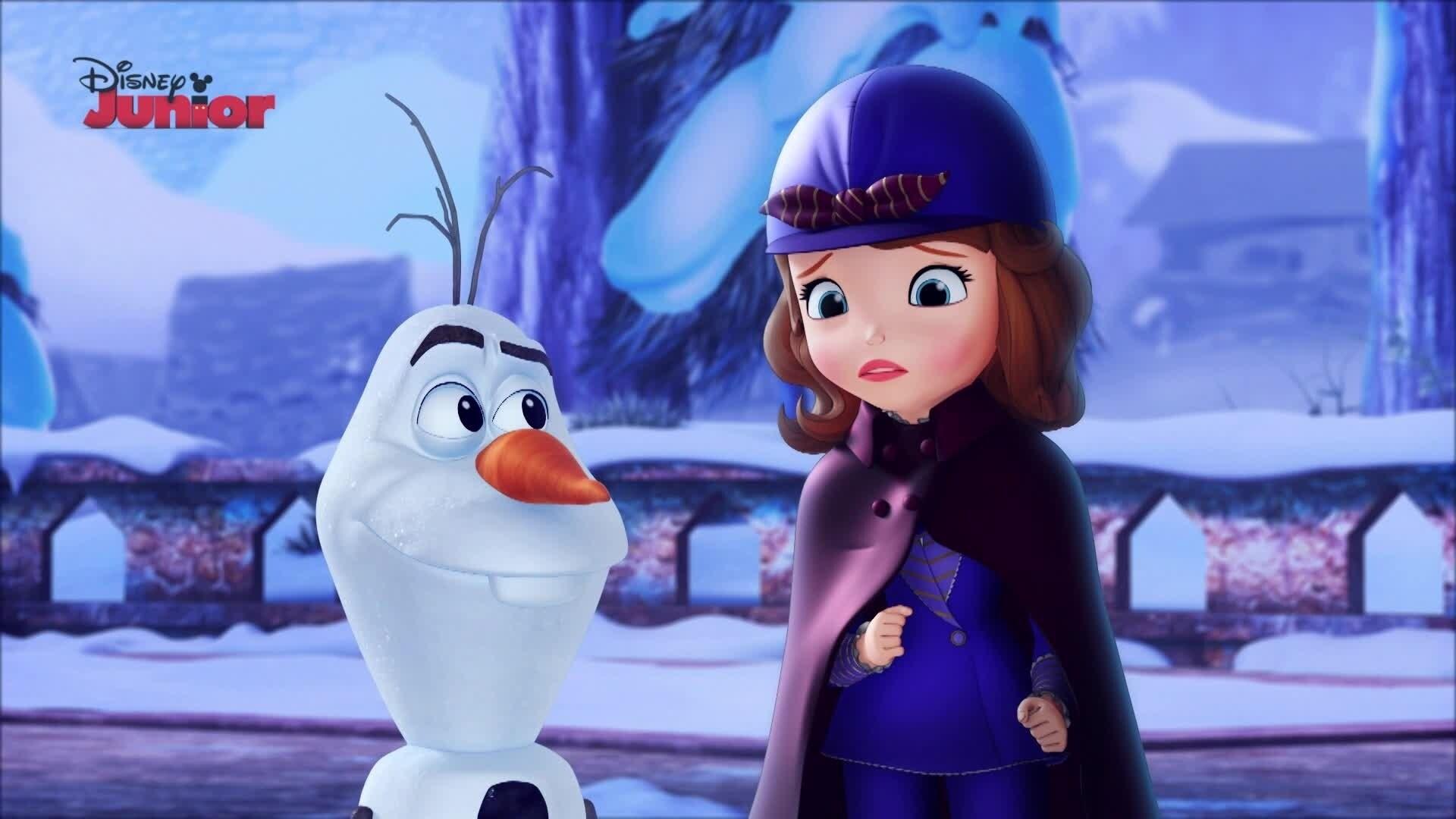 It's Olaf